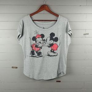 Disney Minnie & Mickey T-shirt ♥️